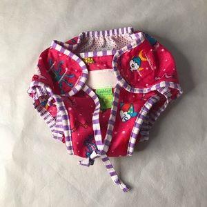 2/$15 KUSHIES adjustable swim diaper girl pattern